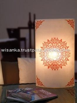 Chakra Table Lamp Medium - Buy Table Lamp,Fiber Lamp Product on ...