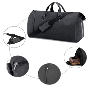 Convertible Fabric Suit Carry On Mens Foldable 2 in 1 Garment Duffel Bag