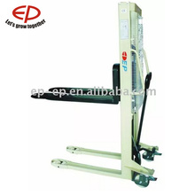 EP 1.5t Hydraulic Hand Stacker Manual Pallet Lift Truck Hand operated Capacity small Scissor fork Lift