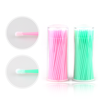 wholesales colorful eyelash brushes extension disposable mascara brush makeup applicator lashes cosmetic makeup tools accessory