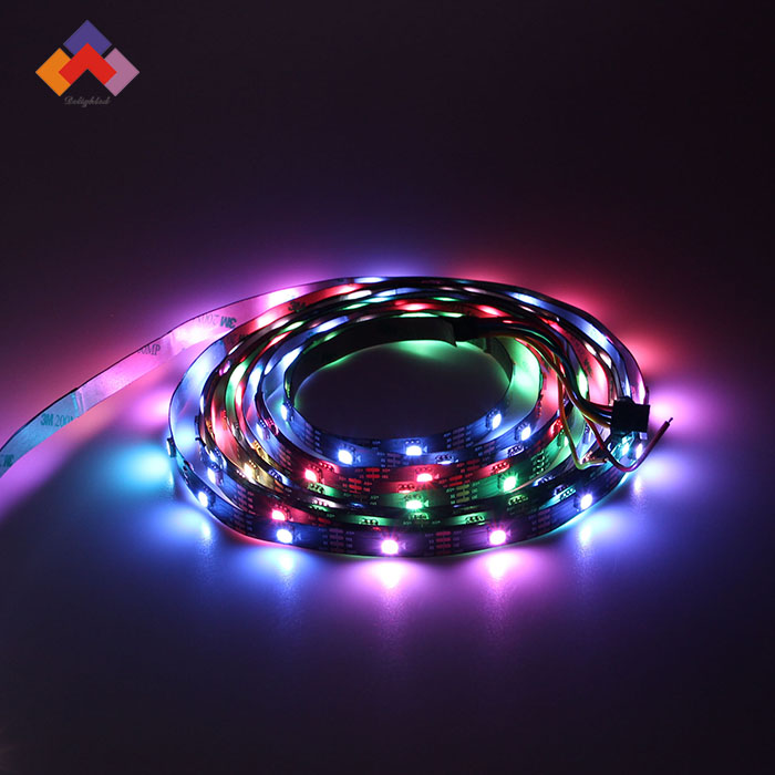 Fexible solid color 5050 led light strip WS2813 LED dream color strip tape,WS2813 30 Pixel 5050 RGB SMD DC5V