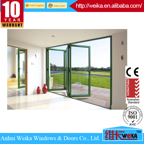 made in China new plastic interior folding doors