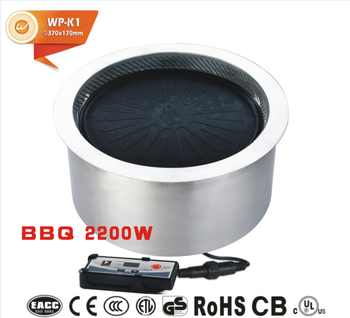 S Portable Charcoal Grill For Korean Barbecue Restaurant