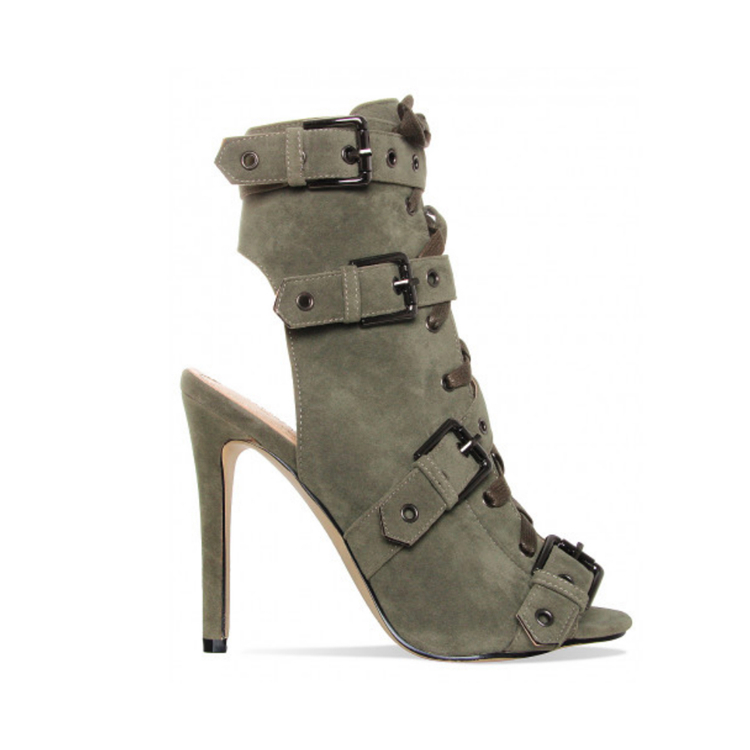 C027 New Stylish Lady Sandals Sexy Fashion High Heel boots Stiletto heel Sandals