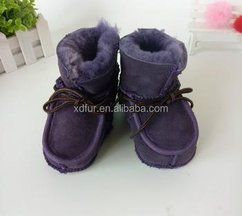 ee113aaae Hecho A Mano Piel De Cordero Zapatos De Bebé Botas - Buy Botas De ...