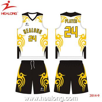 44ef8a054cb Healong Custom Basketball Uniforms Design Your Logo Classic Cheap Basketball  Jersey
