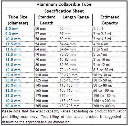 Aluminum Tubing Sizes >> Aluminium Pipe Standard Sizes Acpfoto