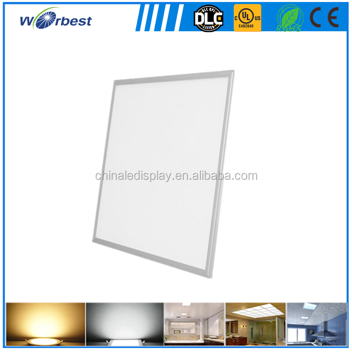 Top sale 600x600 mm LED Panel Light 40 w dimmable led suspended ceiling light for home