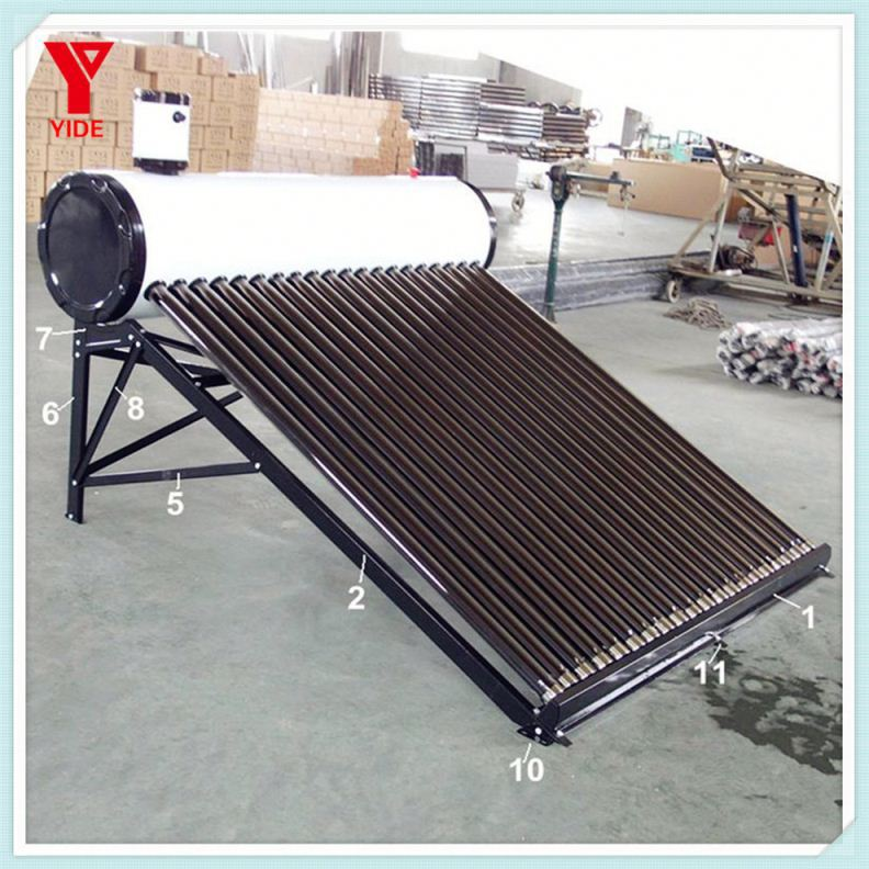 2012 Jiaxing The Newest Unpressurized Solar Water Heater