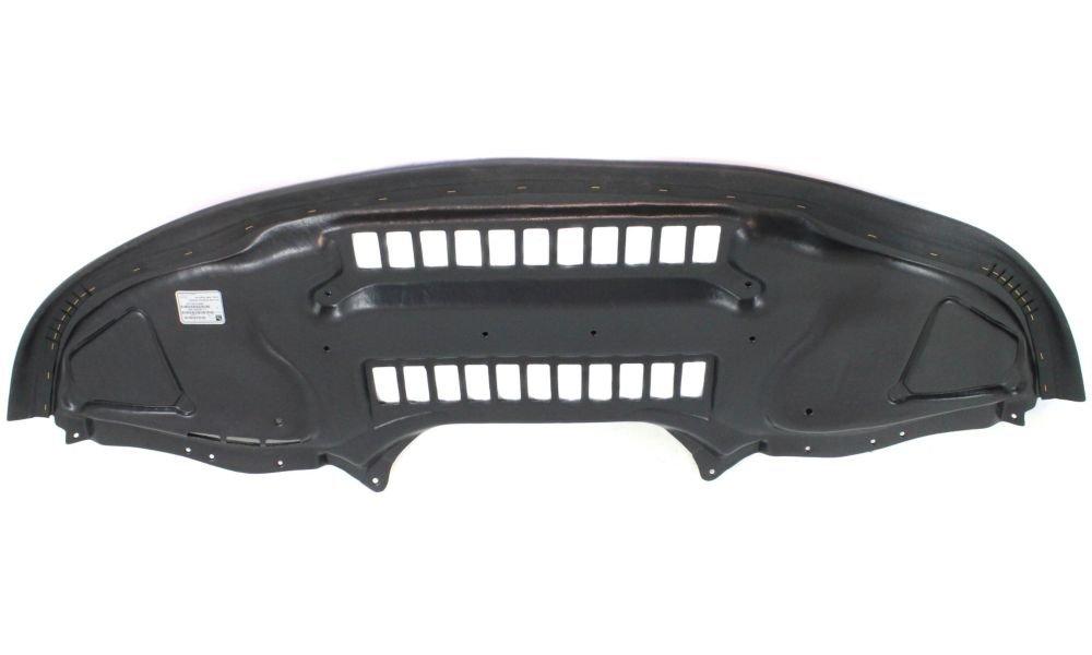 Evan-Fischer EVA20172044575 New Direct Fit Engine Splash Shield Plastic Engine Under Cover Replaces Partslink# MB1228143 Front for Mercedes Benz S55 AMG
