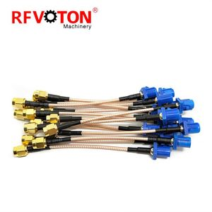 High Quality Sma to FAKRA Connector Types Uses RG316 cable assembly