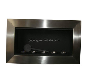 wall mounted bio ethanol chimney fireplace