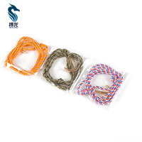 BL-ZAD830 Factory Price Fashion Navy Silver Paracord Bangle Anchor Bracelet For Decoration