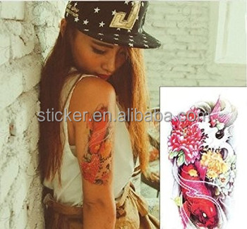 Hot Black Temporary Tattoo Body Art Tattoos 3d Waterproof Temporary Tattoos Sticker Art Men Arm Leg Fake Tatoo Paper Buy Large Temporary Tattoos Arm Temporary Tattoos Sleeves Waterproof Temporary Tattoo Product On Alibaba Com