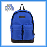 China Supply 2016 Fashion Canvas Backpack cheap School bags for teens