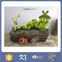 New products 2016 miniature ceramic garden animal