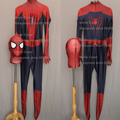 Movie Coser Custom Made High Quality Amazing Spider man Costume Adult Spiderman Zentai Suit New Spiderman