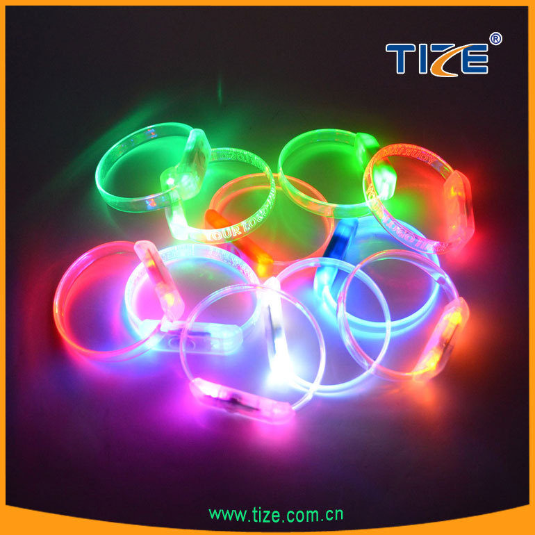 Corporate Promotional Christmas LED Bracelets TZ-W230M music activated bracelets