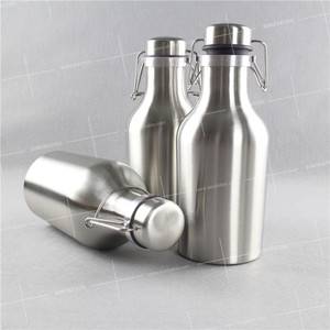 stainless steel growler wholesale wholesale 64oz double wall camo