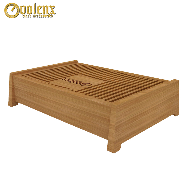 Custom Pull-out Luxury Wood Tea Packaging Box with 12 Compartments