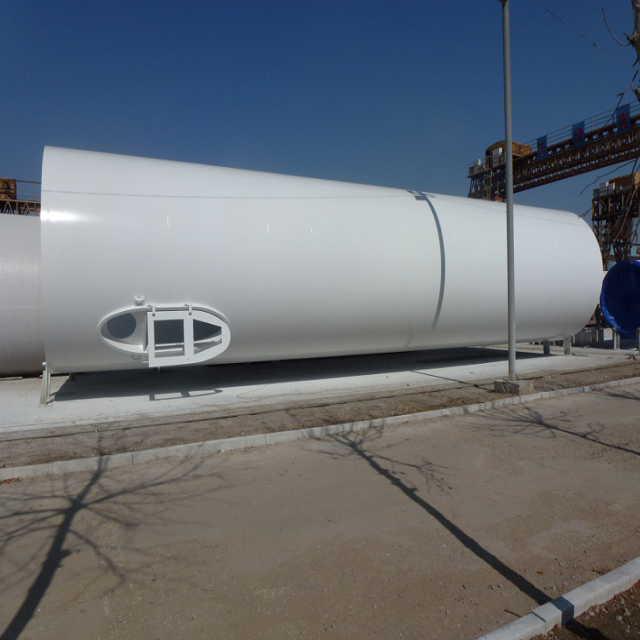 Steel tube wind towers for onshore wind power plants