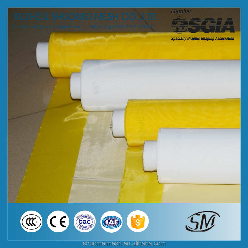 Newest Design Polyester Screen Printing Mesh For Ceramics Printing