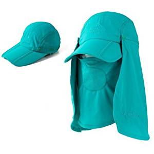 7224b8102e71e Vvip Summer Womens and Mens Sun Protection Windproof Fishing Cap Neck Face  Flap Hat (Lake