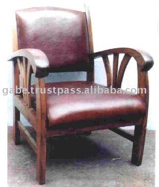 Ccr Arm Chair With Leather