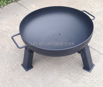 wholesale dia 608090100cm outdoor cast iron steel fire pit