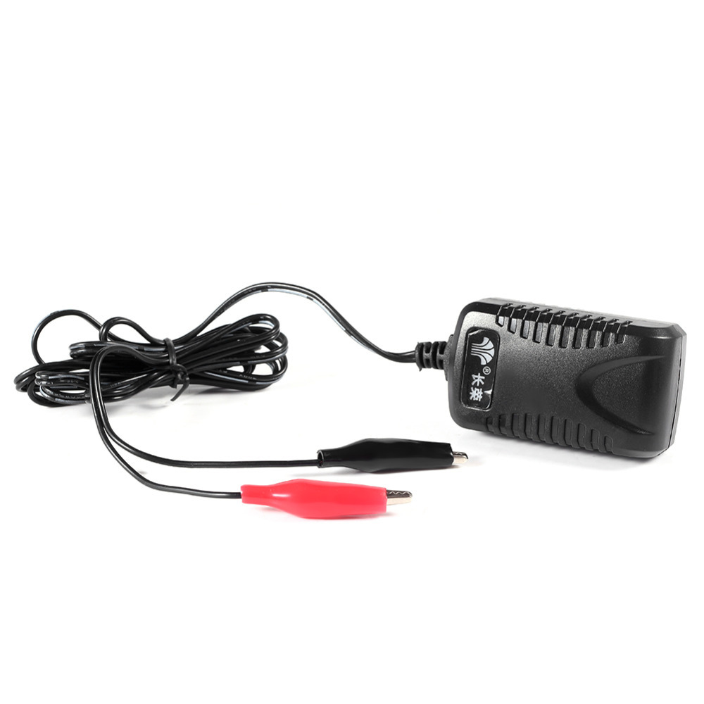 dc 7 5v 500ma sealed lead acid rechargeable battery charger us plug car motor truck battery. Black Bedroom Furniture Sets. Home Design Ideas