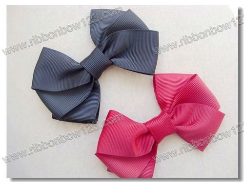 Girls hair costume ribbon bows