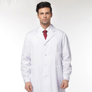 Clinic medical patient gown scrub nurse gown lab coat