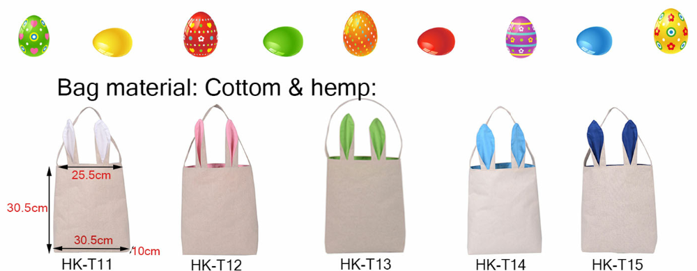 Available diy green color jute mateiral bunny ears bag with single available diy green color jute mateiral bunny ears bag with single handle for easter gift bag negle Image collections