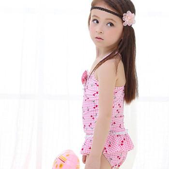 50d34075d6ac7 BC1031 OEM new baby girl swimwear one piece printed kid girls cute swimsuit
