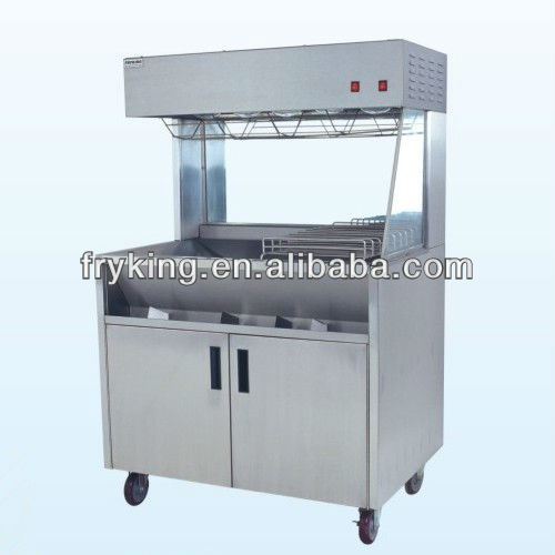 KFC Free Standing French Fries Bagging Station For Sale