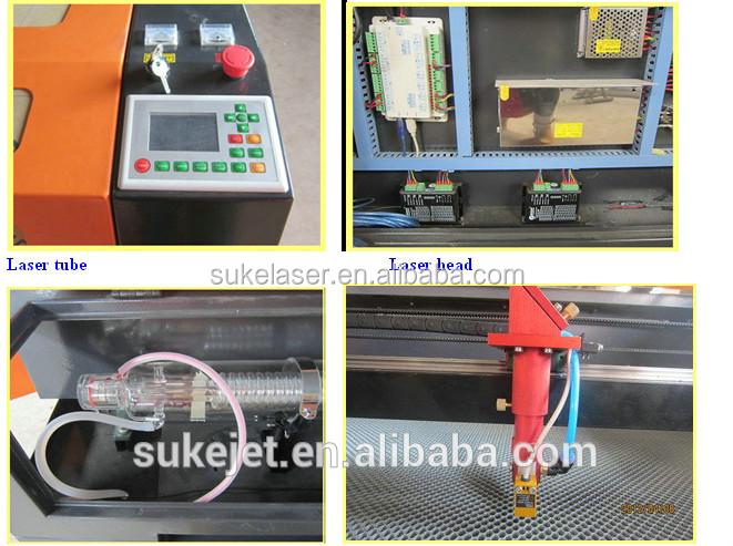 Jinan suke 9060 laser tube 60w leather co2 laser engraving machines
