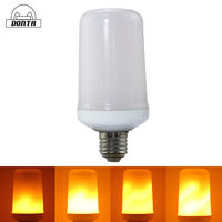 innovative product AC85-265V E27 led flame effect light bulb lamp
