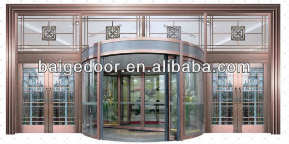 BG-C9100(50) Main entry automatic revolving door for hotel