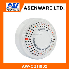 2Wire/4wire Combined Smoke and Heat Detector with CE and strobe sounder