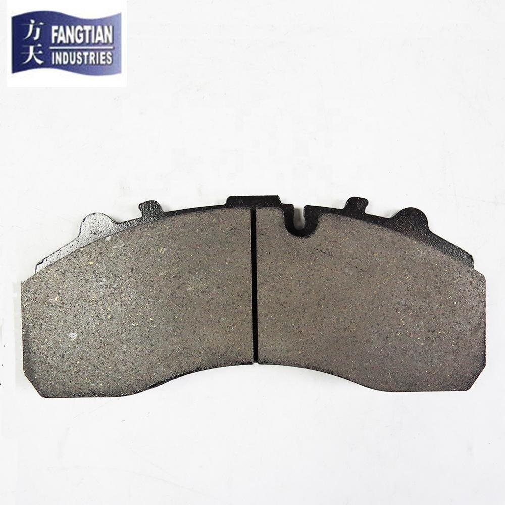 Semi-metalen Daf 29087 Man Truck Brake Pad