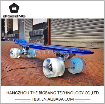 BIGBANG hangzhou skateboard listrik New Style OEM Plastic Skateboard for Sale/ boosted penny skateboard