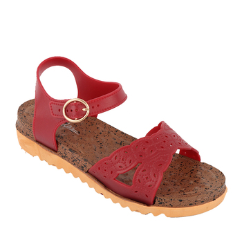 3c01fe005637 Latest simple design custom women flat casual sandals shoes low price  barefoot summer fancy ladies sandal