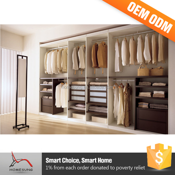 Wardrobes Bedroom Wooden Storage Hanging Clothes Cabinet In Price