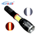 New Design Multipurpose Aluminum 18650 Rechargeable Battery XML T6 LED Strong Light Torch Light With Telescopic Zoom For Car