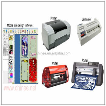Sticker printer and cutter machine small business from home