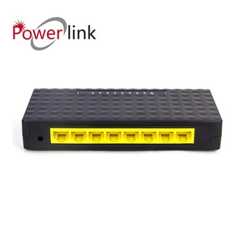 FTTH  GPON GEPON EPON ONU 10/100M 8 port power supply PD RPOE reverse POE switch