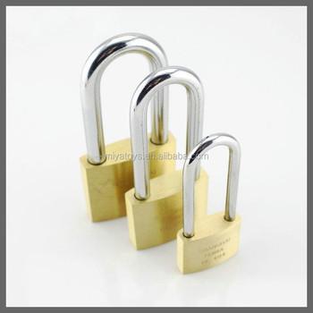 Brass Padlock In Pad Lock