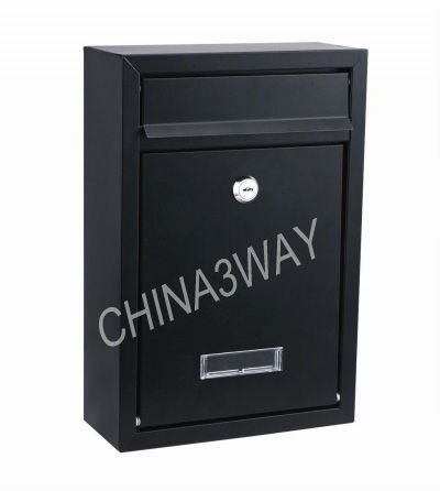 flat letter fence mounted postbox famous aluminum mailbox for apartment