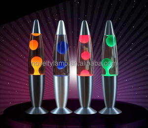 18.5 '' LED metal magma lamp motion lava lamp
