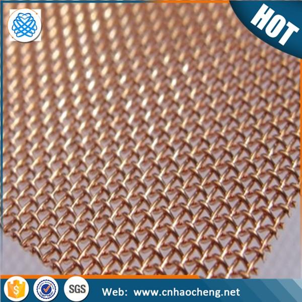 Faraday Cage 200 Mesh Red Copper Wire Shielding Fabric